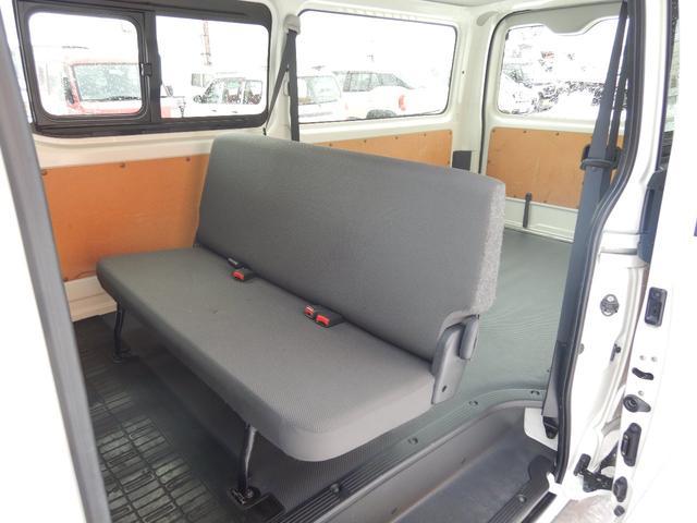 DX 6人 4ドア 4WD 寒冷地仕様 社外メッキミラー フロントバンパー・リヤバンパーホワイト塗装(7枚目)