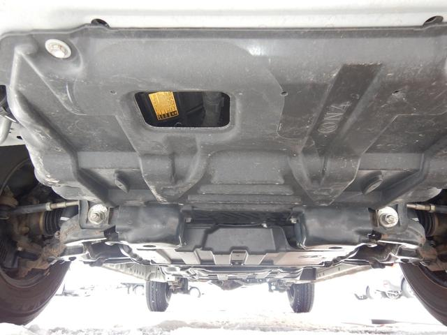 DX 6人 4ドア 4WD 寒冷地仕様 社外メッキミラー フロントバンパー・リヤバンパーホワイト塗装(22枚目)