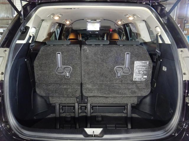 アエラス プレミアムエディション 4WD SDナビ フルセグTV Bカメラ フリップダウンモニター ETC 両側電動スライドドア パワーバックドア パワーシート ハーフレザーシート スマートキー プッシュスタート クルコン HID(65枚目)