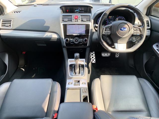 1.6GT-Sアイサイト AWD・禁煙・フリップダウンモニター・純正メモリーナビ・フルセグTV・Bluetooth・サイド&バックカメラ・電動ブラックレザーシート・純正ドラレコ・LEDオートライト・純正18インチアルミ(2枚目)