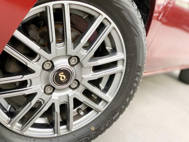 L 4WD・禁煙・夏冬タイヤ有・純正SDナビ・フルセグTV・CD・DVD・Bluetooth・ETC・アイドリングストップ・キーレス・社外14インチアルミ(12枚目)