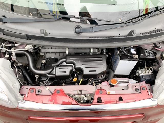 L 4WD・禁煙・夏冬タイヤ有・純正SDナビ・フルセグTV・CD・DVD・Bluetooth・ETC・アイドリングストップ・キーレス・社外14インチアルミ(30枚目)