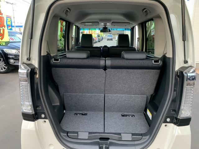 G・ターボLパッケージ 4WD・禁煙・両側電動スライドドア・クルーズコントロール・衝突被害軽減システム・シートヒーター・純正SDナビ・フルセグTV・バックカメラ・HIDオートライト(19枚目)