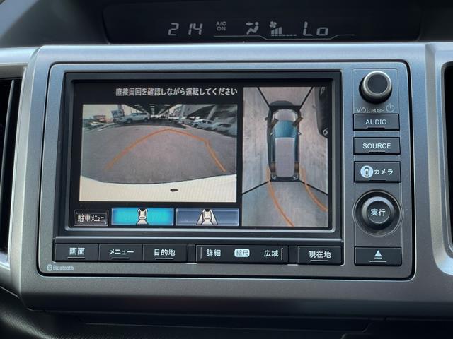 Z クールスピリット 4WD 禁煙 全方位カメラ フリップダウンモニター 純正HDDナビ フルセグTV バックカメラ ETC クルーズコントロール インテリキー ハーフレザーシート 両側電動スライド HIDヘッドライト(31枚目)