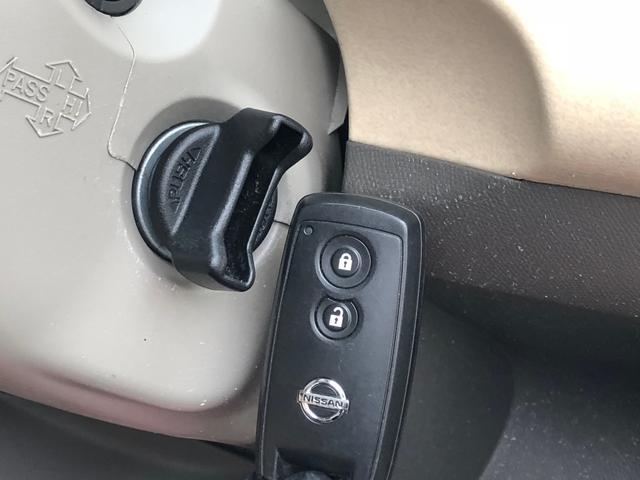スマートキー装備ですので、鍵はポケットやかばんに入れたまま鍵の開閉操作やエンジンの指導が可能です!