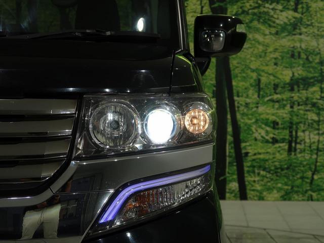 G・Lパッケージ 4WD 禁煙車 SDナビ 両側電動スライドドア 純正アルミホイール HIDヘッドライト HIDフロントフォグ フルセグTV オートライト ドアバイザー キーレス&プッシュスタートシステム 盗難防止(15枚目)