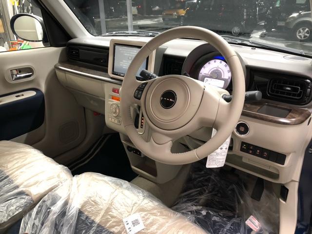 モード 4WD 届出済未使用車 スズキセーフティーサポート 純正ナビ 純正フロアマット ドアバイザー(12枚目)