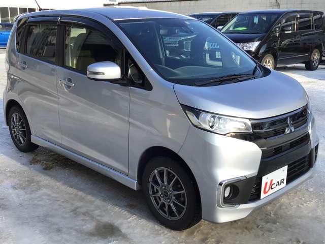 「三菱」「eKカスタム」「コンパクトカー」「北海道」の中古車3