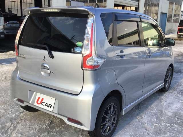 「三菱」「eKカスタム」「コンパクトカー」「北海道」の中古車6