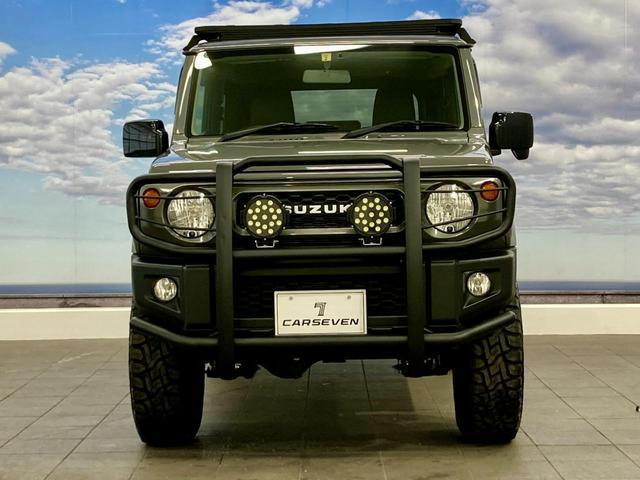 XL 4WD 寒冷地仕様 リフトアップ 本革S(社外) ESC シートヒーター 背面タイヤ 社外エアロ(F) ETC センターデフロック(5枚目)