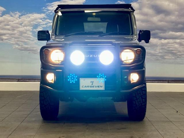 XL 4WD 寒冷地仕様 リフトアップ 本革S(社外) ESC シートヒーター 背面タイヤ 社外エアロ(F) ETC センターデフロック(6枚目)
