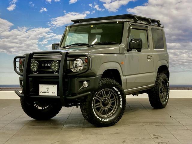 XL 4WD 寒冷地仕様 リフトアップ 本革S(社外) ESC シートヒーター 背面タイヤ 社外エアロ(F) ETC センターデフロック(15枚目)