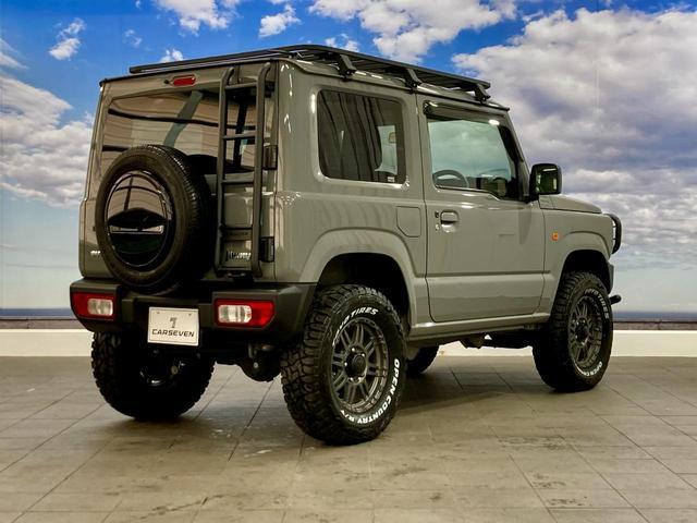 XL 4WD 寒冷地仕様 リフトアップ 本革S(社外) ESC シートヒーター 背面タイヤ 社外エアロ(F) ETC センターデフロック(19枚目)