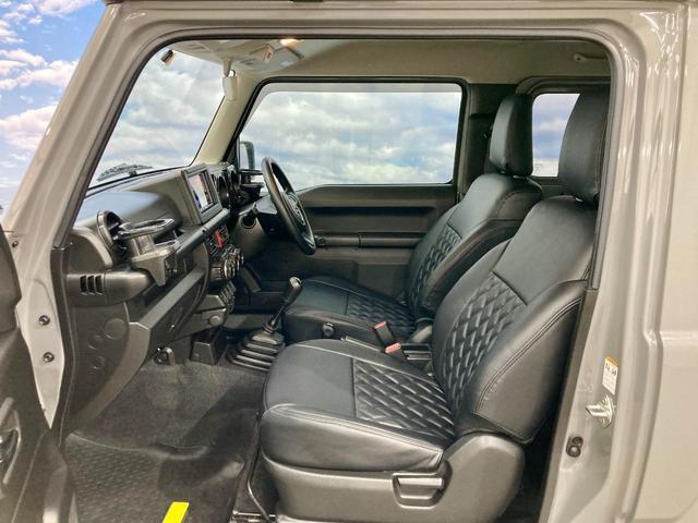 XL 4WD 寒冷地仕様 リフトアップ 本革S(社外) ESC シートヒーター 背面タイヤ 社外エアロ(F) ETC センターデフロック(25枚目)