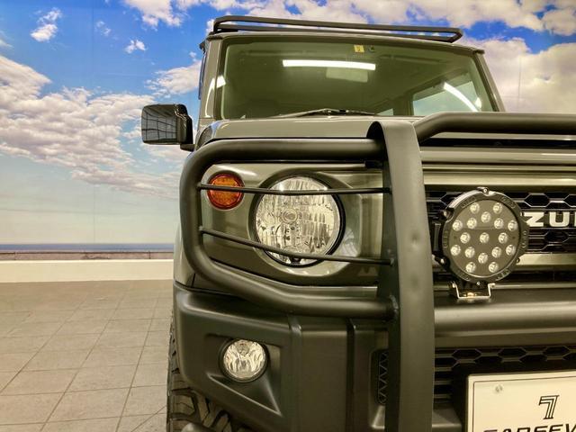 XL 4WD 寒冷地仕様 リフトアップ 本革S(社外) ESC シートヒーター 背面タイヤ 社外エアロ(F) ETC センターデフロック(42枚目)