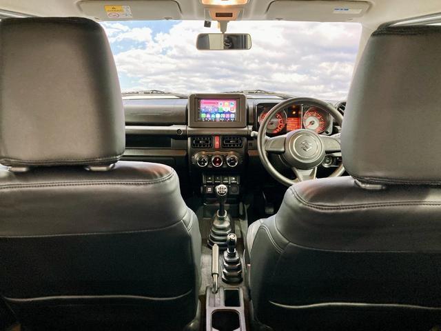 XL 4WD 寒冷地仕様 リフトアップ 本革S(社外) ESC シートヒーター 背面タイヤ 社外エアロ(F) ETC センターデフロック(49枚目)