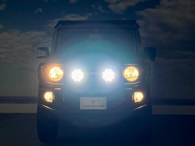 XL 4WD 寒冷地仕様 リフトアップ 本革S(社外) ESC シートヒーター 背面タイヤ 社外エアロ(F) ETC センターデフロック(61枚目)