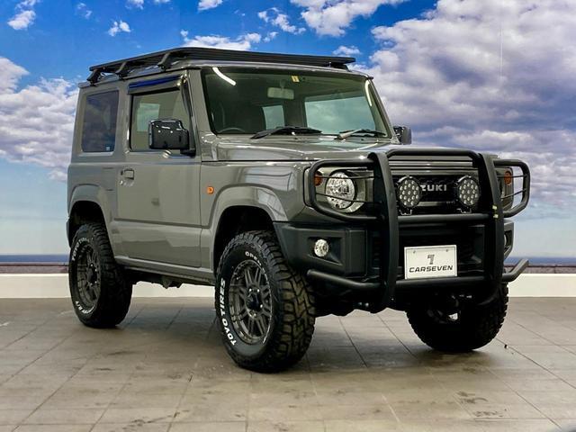XL 4WD 寒冷地仕様 リフトアップ 本革S(社外) ESC シートヒーター 背面タイヤ 社外エアロ(F) ETC センターデフロック(64枚目)