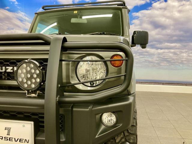XL 4WD 寒冷地仕様 リフトアップ 本革S(社外) ESC シートヒーター 背面タイヤ 社外エアロ(F) ETC センターデフロック(70枚目)