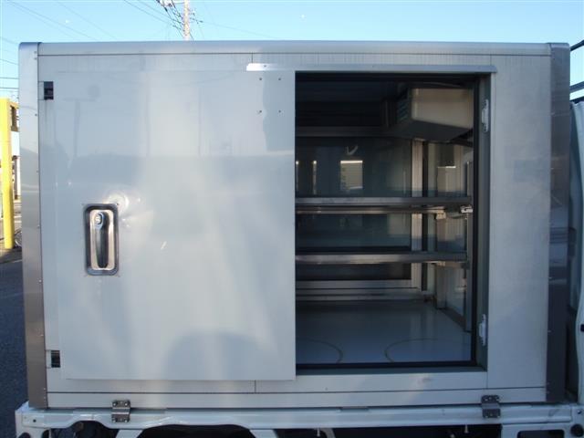 スズキ キャリイトラック 冷蔵冷凍車 サッシ付