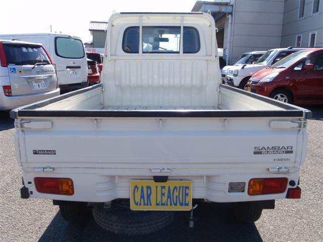 スバル サンバートラック TB 4WD 5速AC付き