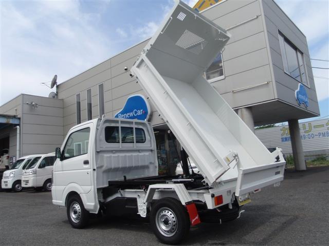 日産 NT100クリッパートラック ダンプ 4WD 未使用車