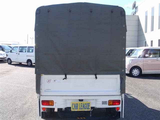 ダイハツ ハイゼットトラック 垂直ゲート 幌付き車
