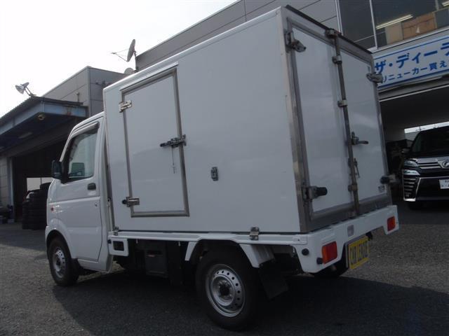 スズキ キャリイトラック 低温冷蔵冷凍車