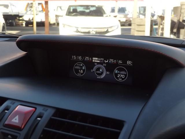 1.6STIスポーツアイサイト ブラックセレクション フルセグ8型SDナビ バック サイド フロントカメラ LEDオートライト シートヒーター ETC パワーシート ハーフレザーシート アイサイト コーナーセンサー パドルシフト ドライブレコーダー(32枚目)