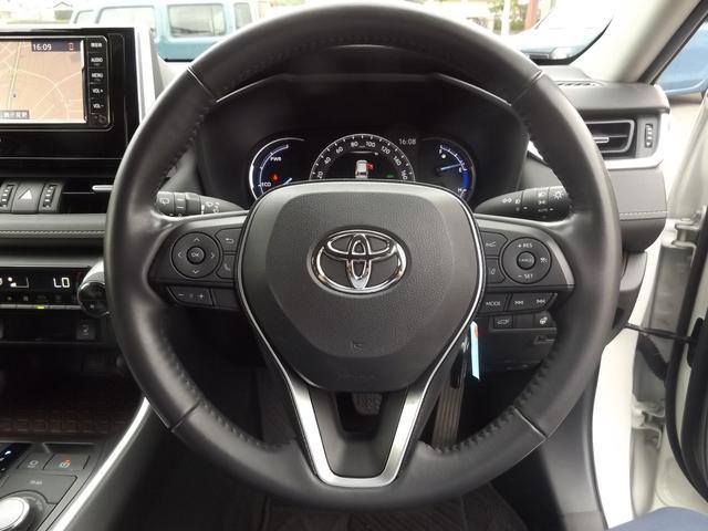 ハイブリッドG 4WD 純正SDナビ TV Bluetooth バックカメラ セーフティセンス LEDオートライト オートハイビーム コーナーソナー ビルトインETC パワーシート 本革シート 前席シートヒーター(21枚目)