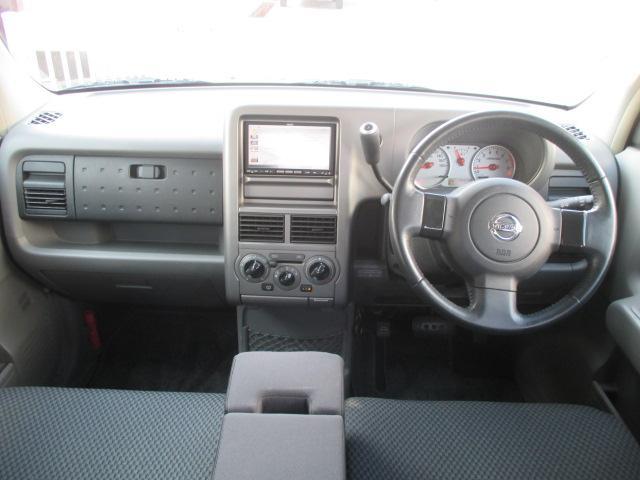 視界の良い運転席まわりで、女性ドライバーも安心ですね!