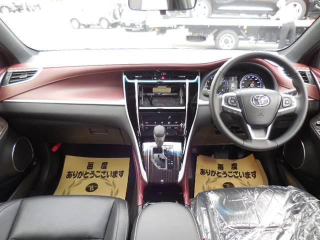 トヨタ ハリアー エレガンス サンルーフ 同色ルーフスポイラー 内装ボルドー