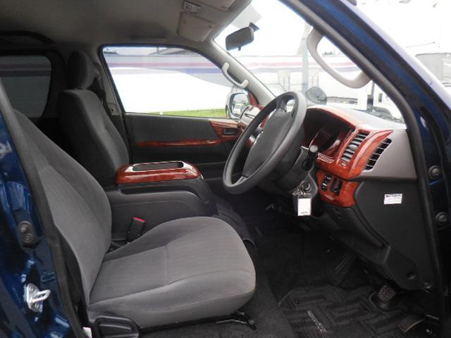 トヨタ ハイエースバン ロングスーパーGL モデリスタスポイラー 17インチバルベロ