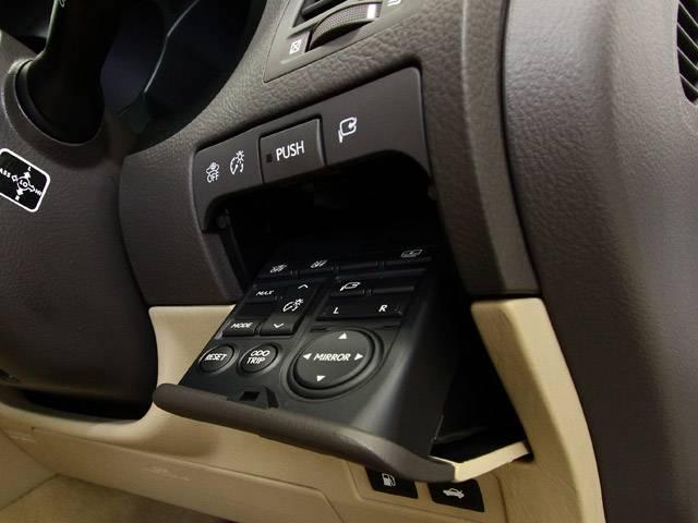 レクサス GS GS350 中期 HDDマルチ ウッドハン 電動リアシェード