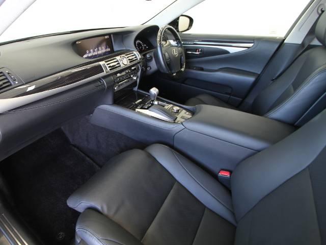 レクサス LS LS600h バージョンC Iパッケージ 黒革エア SR