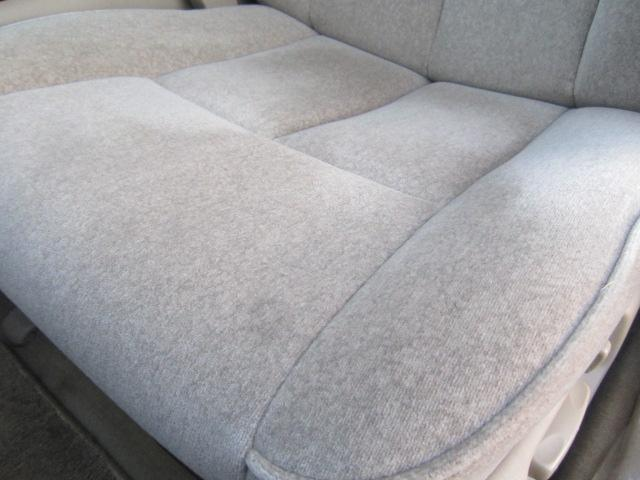 シートの座面の拡大画像です。
