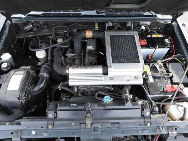 ワイド XR-II ディーゼルターボ5速マニュアル4WDサンルーフウインチ(41枚目)