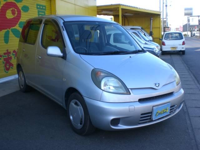 トヨタ ファンカーゴ X ABS Wエアバッグ 保証付き CD センターメーター