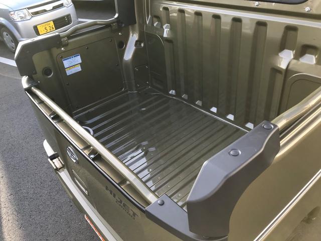ダイハツ ハイゼットカーゴ デッキバンG SAIII 4WD届出済み未使用車 キーレス