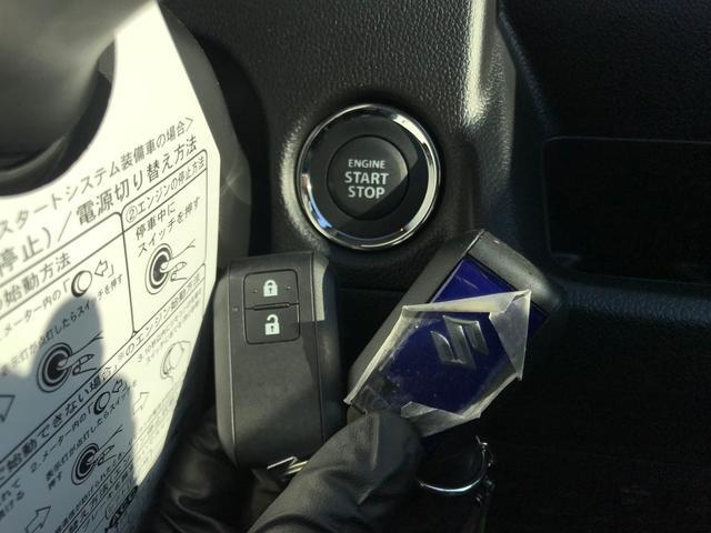 【プッシュスタート】カギを携帯いていればカバンやポケットから取り出すことなくエンジンの始動が可能です!