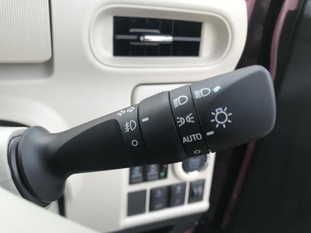 【オートライト】周囲の明るさに応じてライトを自動で点灯、消灯します。消し忘れによるバッテリー上がりの心配もございません。