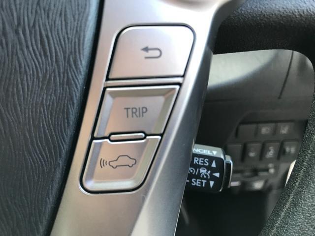 【アダプティブクルーズコントロール】自車の速度を一定に保つシステムに前車との距離に応じて自動減速・加速機能を追加した最新のシステムです!