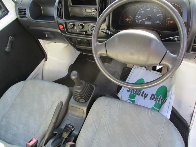 スズキ キャリイトラック KU 4WD パワステ 5速マニュアル