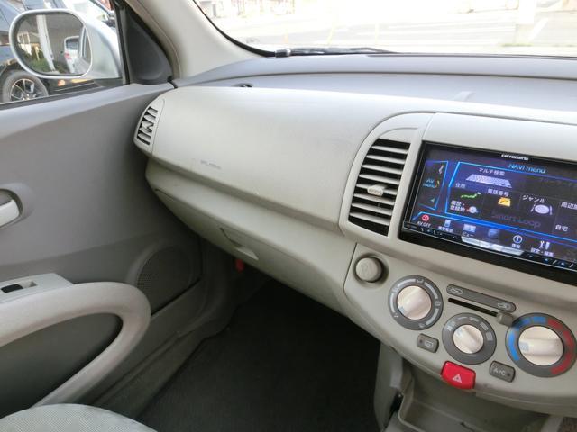日産 マーチ 12c HDDナビ フルセグ ETC キーレス
