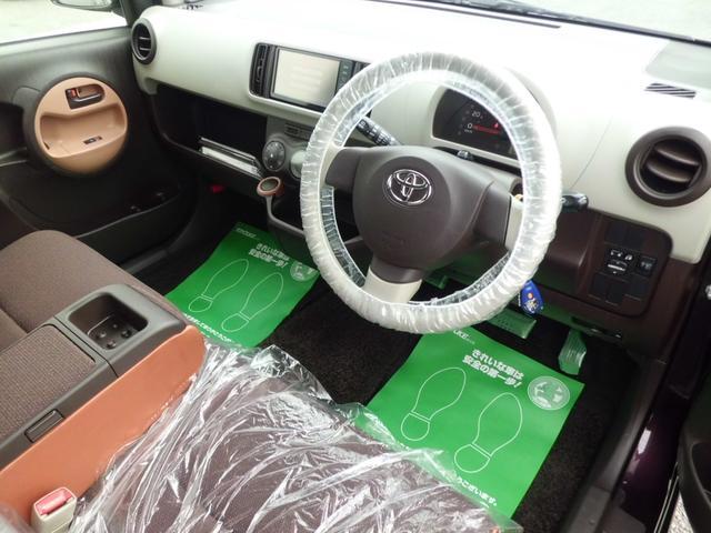 トヨタ パッソ プラスハナ アプリコットコレクション SDナビフルセグ
