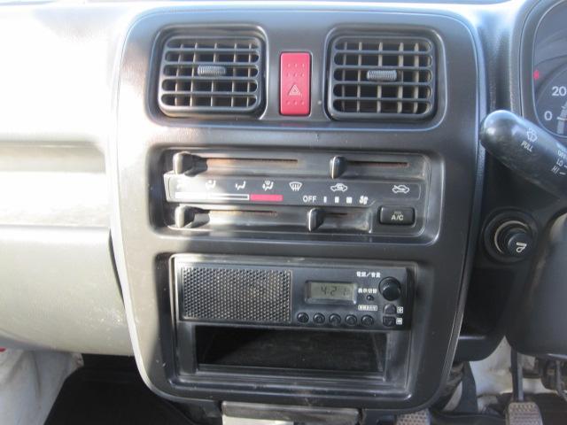 スズキ キャリイトラック ダンプ 4WD AC PS