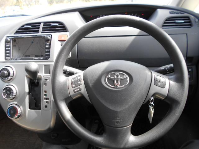 トヨタ ラクティス G 4WD 純正ナビ バックカメラ