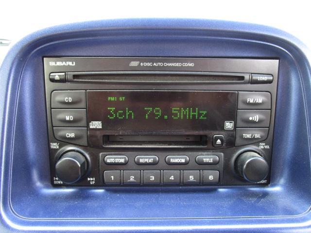 スバル プレオ RS スーパーチャージャー MDCD エアバッグ CVT