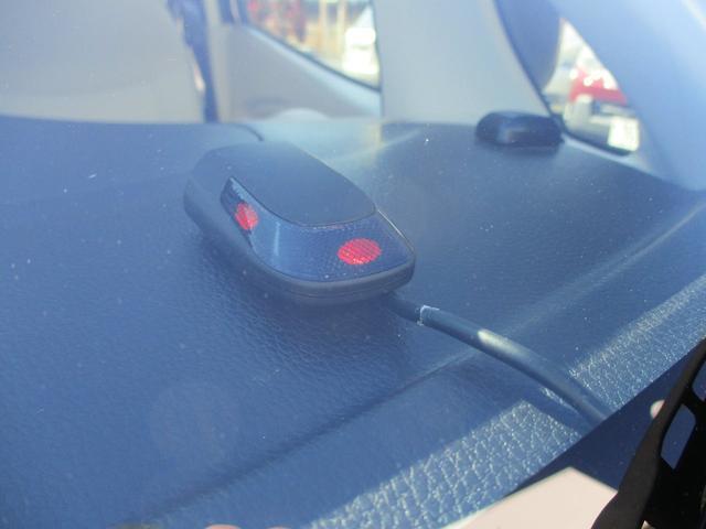 ダッシュボード上のセキュリティーインジケーターが赤く点滅!犯罪抑止に効果が有ります!