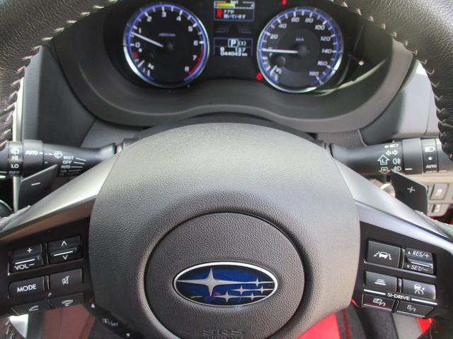 2.0GTアイサイト 4WD 走行44043Km ナビ バックカメラ ETC フルセグTV 衝突軽減ブレーキ 黒革シート シートヒーター パワーシート コーナーセンサー LEDヘッドライト スマートキー(16枚目)